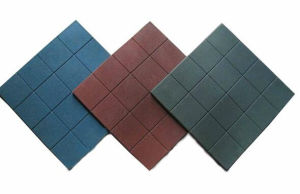 500mm Size Outdoor Recycled Rubber Floor Paver pictures & photos