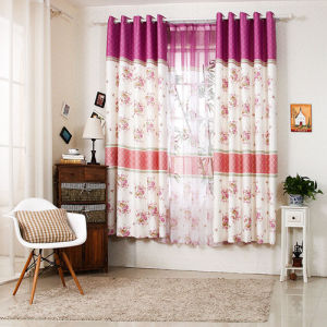 Countryside Style Print Curtain Fashion Curtain (KS-152) pictures & photos