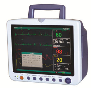Med-Pm-Top1800 Portable 6-Parameter Patient Monitor 12.1inch Cheap Price pictures & photos
