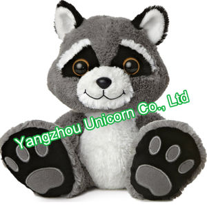 CE Gift Cozy Soft Stuffed Animal Raccoon Plush Toy pictures & photos
