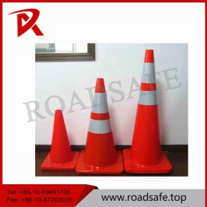 90cm PVC Traffic Cone Used Road Safety Cones pictures & photos