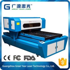 Great Year 1218 Flat Bed Die Board Wood Die Cutting Laser Cut Machine pictures & photos