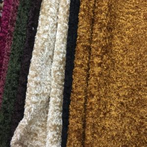 100%Polyester Knitting Velvet for Sofa and Furniture (SH001) pictures & photos
