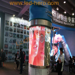 Cylinder High Definiion LED Creen for Indoor Advertising