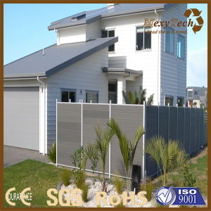 Canton Supplier Aluminum Wood Fence with Oxidation Treatment pictures & photos
