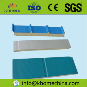 Polyurethane Sealing Side Rock Wool/Fiber Glass Class a Insulation Board pictures & photos