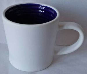 11 Oz Inner Dark Blue and White Outside Ceramic & Coffee Mug pictures & photos