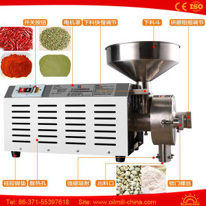 Dried Seeds Coffee Wheat Flour Beans Mini Mustard Grinding Machine pictures & photos