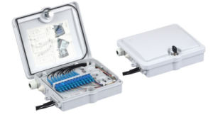 FTTH 12 Cores Fiber Optic Termination Box (AS-ODF-FDB-12) pictures & photos