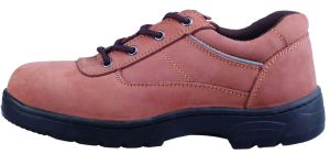 Dark Brown Cow Leather Safety Shoes pictures & photos
