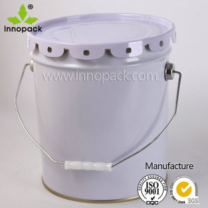 5 Gallon Metal Tin Pail for Chemical Use pictures & photos