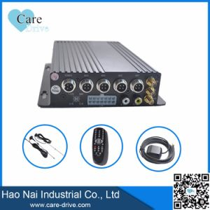 4CH Realtime WiFi Mobile DVR 4 Camera H 264 Ahd DVR with SD Card for Car and Bus pictures & photos