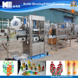 Washing-up Liquid Bottles Labeling Machine pictures & photos