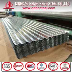 JIS G3322 Aluzinc Galvalume Corrugated Roofing Sheet/Tile/Panel pictures & photos
