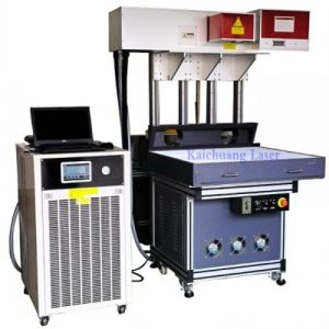 280W CO2 Dynamic Laser Marking Machine for Glass/Wood/Leather