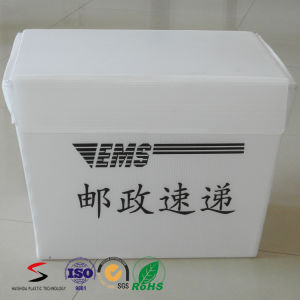 Plastic Storage Box Industrial PP Corrugated Box Ultrasonic Welding Box pictures & photos