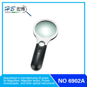 Handle Magnifier with LED Lamp pictures & photos