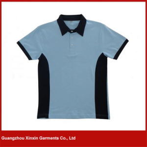 Custom Good Quality 100% Polyester Sports Golf T Shirts (P103) pictures & photos