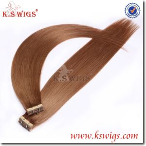 Top Quality Tape Hair Remy Brazilian Human Hair pictures & photos