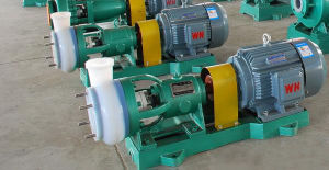 Fluorine Plastic Lined Chemical Pump for Highly Corrosive Liquid (IHF) pictures & photos