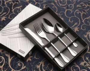 Four-Piece Suit Dinner-Knife Stainless Steel Cutlery Set (B22) pictures & photos