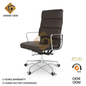 Dark Brown High Back Leather Executive Chair (GV-EA219) pictures & photos