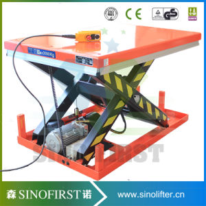 Heavy Load High Lift Stationary Upright Scissor Lift Platform pictures & photos