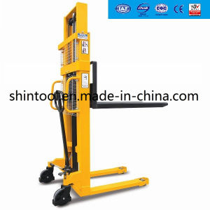 1.0 Ton Manual Pallet Stacker Sda10 pictures & photos