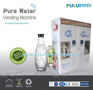 Ce Approval Water Vending Machine with 2 Dipense Window to Sale Normal Water and Cold Water (RO-300A) pictures & photos