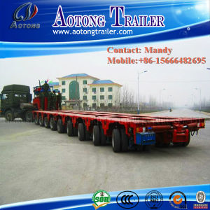 25meters Long Modular Trailer with Jack up and Down System pictures & photos