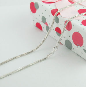 Italian Sterling Silver Chain, Long Neckalce Fashion Jewelry pictures & photos