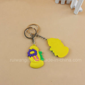 Wholesale 3D Soft PVC Key Holder for Souvenirs, Soft PVC Keyring pictures & photos