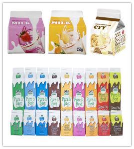 1L 3layer Gable Top Carton for Fresh Milk pictures & photos