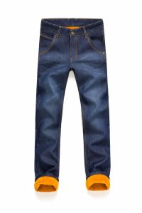 D842 Men Winter Trousers Denim Jeans pictures & photos