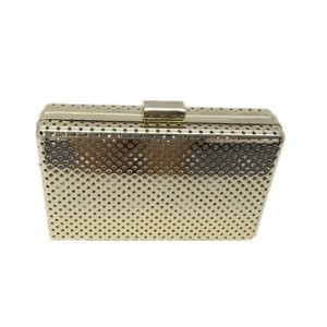 Small Hole Fashion clutch Gold Arrestive Eveningbag pictures & photos
