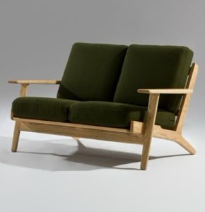 Hans J Wegner Style Plank 2 Seater Sofa pictures & photos