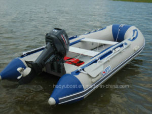 Sale Inflatable Boat 3.3m Fishing Boat Sport Boat PVC or Hypalon Tube with CE pictures & photos