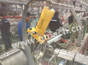 Screen Changer Filter for Plastic Extrusion Machine Plate Type Screen Changer Price pictures & photos