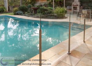 10mm, 12mm Framless Tempered Glass Pool Fencing with Ce, AS/NZS2208 pictures & photos