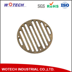 Customized High Quality Copper Sand Casting Drain Metal Part