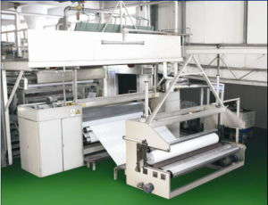 The Most Professional Manufacturer Non Woven Fabrics Making Machine pictures & photos