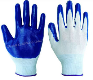 Natrile Glove, Labor Protective, Safety Work Gloves (N7005) pictures & photos