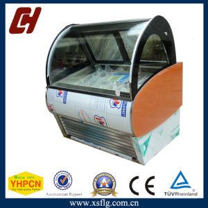 Commercial Ice Cream Gelato Freezer Vitrinas pictures & photos