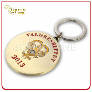 Nickel Plated Soft Enamel Metal Promotion Key Ring pictures & photos