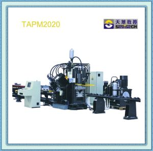 High Speed Single Blade Cutting CNC Angle Punching Shearing and Marking Production Line