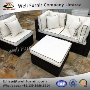 Well Furnir Wicker 4 Piece Sofa Set with Cushion pictures & photos