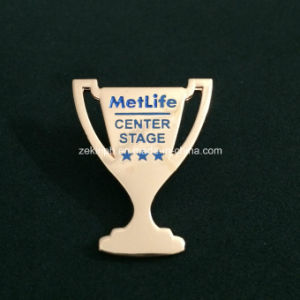Custom Trophy Cup Badges for Competition pictures & photos