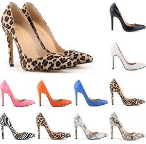 Leopard-Print or Zebra Pattern Sexy Women Shoe