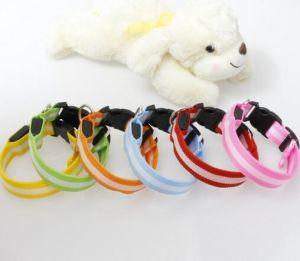 Hot Selling Transparent Binding Glowing Dog Collar