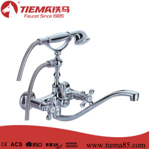 High Quality Brass Two Handle Bath/Shower Faucet (ZS57501) pictures & photos